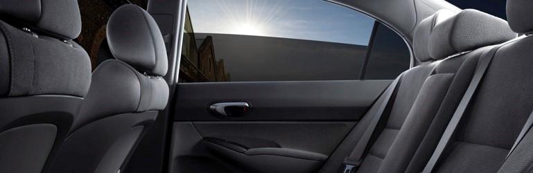 Interior protejat de folie auto